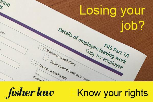 Losing Your Job?
